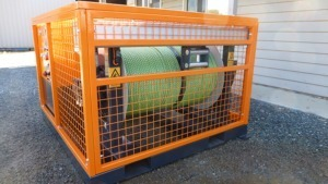 SERIES 7 ROPE DRUM WINCH